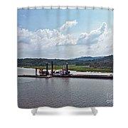 Panama053 Shower Curtain