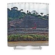 Panama056 Shower Curtain