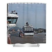 Panama090 Shower Curtain