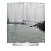 Panama212 Shower Curtain