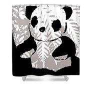 panda XXX Shower Curtain