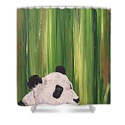 Pandas Fading  Shower Curtain