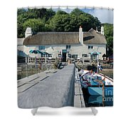 Pandora Inn Cornwall Shower Curtain