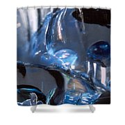 Panel 2 From Swirl Shower Curtain