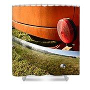 Panel Truck Bumper Shower Curtain