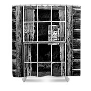 Panes To The Past Shower Curtain