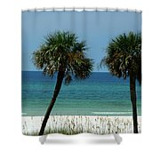 Panhandle Beaches Shower Curtain