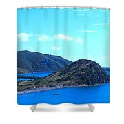 Panhandle Shower Curtain
