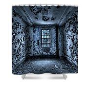 Panic Room Shower Curtain