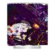 Panicle Shrub Panicle Bush Insect  Shower Curtain