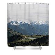 Pano Kitzbueheler Horn Shower Curtain
