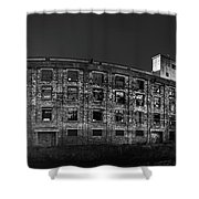 Pano Of The Fort William Starch Company At Sunset Shower Curtain