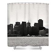 Panoram-francisco Shower Curtain