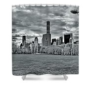 Panorama Of New York City Shower Curtain