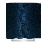 Panorama Of The Milky Way Shower Curtain