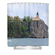 Panorama Rock Shower Curtain