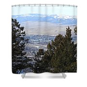 Panoramic Picture Shower Curtain