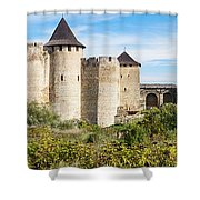 Medieval Ukrainian Fortress Shower Curtain