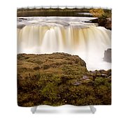 Panoramic Waterfall Manitoba Shower Curtain