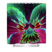 Pansy 01 - Photopower - Thoughts Of You Shower Curtain
