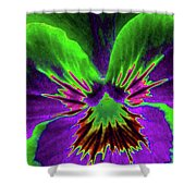 Pansy 02 - Photopower - Thoughts Of You Shower Curtain