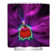 Pansy 03 - Photopower - Thoughts Of You Shower Curtain