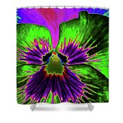 Pansy 06 - Photopower - Thoughts Of You Shower Curtain