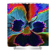 Pansy 09 - Photopower - Thoughts Of You Shower Curtain