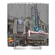 Pantages Theater Hollywood Shower Curtain