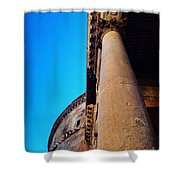 Pantheon Column Shower Curtain