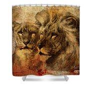 Panthera Leo 2016 Shower Curtain