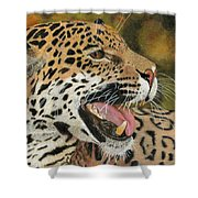 Panthera Shower Curtain