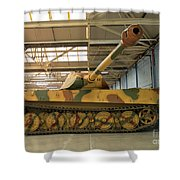 Panzer Vi Tiger Tank In Bovington, Uk Shower Curtain