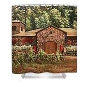 Paoletti  Estates Winery Shower Curtain