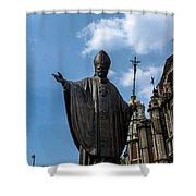 Papa Juan Pablo II - Mexico City I Shower Curtain