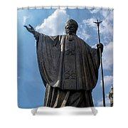 Papa Juan Pablo II - Mexico City IIi Shower Curtain