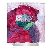 Papagallo Number One Shower Curtain