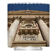 Papal Balcony Shower Curtain