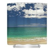 Papaoneone Beach Shower Curtain