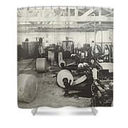Paper Mill Shower Curtain