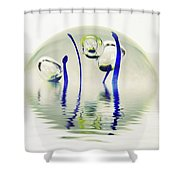 Paperweight No. 12-1 Shower Curtain