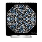 Papilloz - Mandala Shower Curtain