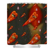 Paprika And Fish Is Also A Dish Shower Curtain
