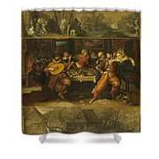 Parable Of The Prodigal Son Shower Curtain