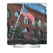 Parade 7 Shower Curtain