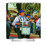 Parade Musicians Shower Curtain