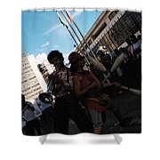 Parade Performance Shower Curtain