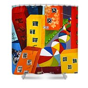 Parade The Day After Shower Curtain