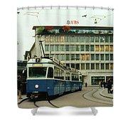 Paradeplatz Zurich Shower Curtain