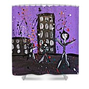 Parades 9 Shower Curtain